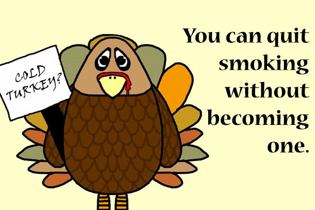 Cold turkey stop smoking
