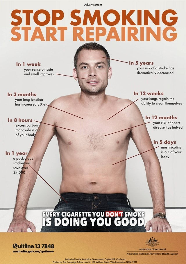 Quit smoking campaign