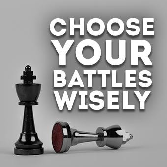 Choosing Battles Wisely Hypnosis