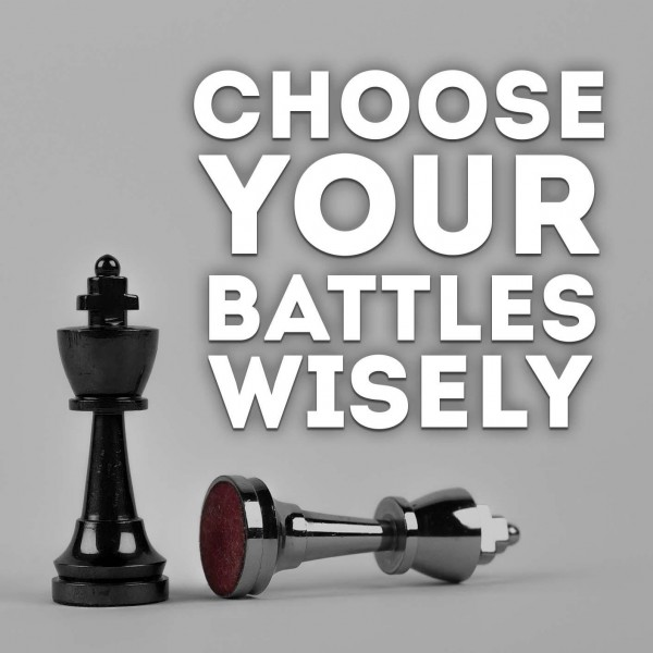 Choose Your Battles Wisely Hypnosis
