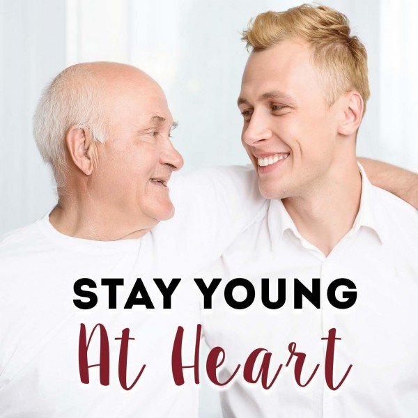 Stay Young At Heart Hypnosis